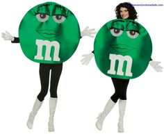 M&MS GREEN DELUXE ADULT COSTUME #stpatricksday #saintpatricksday #costumes #dress #stpattysday #saintpattysday #pattys #day