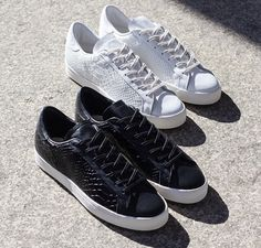 e84a49905b Take another look at the premium adidas Originals Consortium Rod Laver  Python Pack.