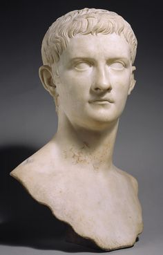 Emperor Gaius Julius Caesar Germanicus, known as Caligula, 37–41; Julio-Claudian  Roman  Marble    Source: Emperor Gaius Julius Caesar Germanicus, known as Caligula, The [Roman] (14.37) | Heilbrunn Timeline of Art History | The Metropolitan Museum of Art
