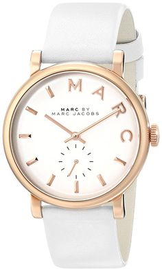578acd7e0f09  Marc by Marc  Jacobs  Women s  MBM1283 Baker Rose-Tone Stainless Steel