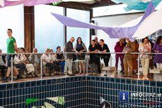 Ausstellungseröffnung von Lotte Hubmann HAUT : SCHATTEN im Kunstbad (Steiermarkhof) am 29. Juni 2015. Textil-Foto-Objekt-Installation & Live-Performance mit Elena Waclawiczek und Anna Adensamer. #LotteHubmann #KunstbadSteiermarkhof #TextilFotoObjektInstallation  #LivePerformance #ElenaWaclawiczek #AnnaAdensamer