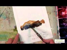 Watercolor Techniques with Judy Rider - Lift Paint to Create Rocks