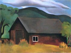 My Shanty, Lake George (1922) by Georgia O'Keeffe