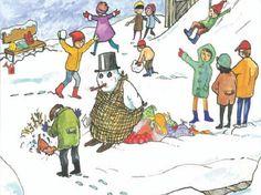 Κάθε μέρα... πρώτη!: Ο παπουτσωμένος χιονόδρακος (1)