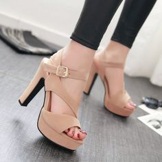 2016 sexy women sandals strappy heels shoes platform women shoes summer gladiator sandals brand woman shoes chaussure femme BDE0