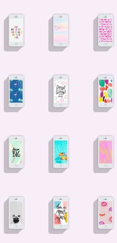 12 fun phone wallpaper designs for 2017