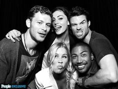 Klaus, Hailey, Elijah, Rebekah, And Marcel (The Originals)