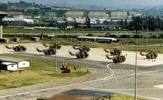 South African Air Force Super Frelons at Louis Botha AFB Durban South African Air Force, Air Show, Military Aircraft, Aviation, Cold War, Planes, Boats, Guns, Sad