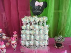 Candy Bar Minnie Mouse