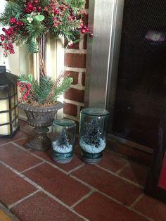 Repurposed mason jars ! Love ! Thank you Mrs @Donna Kauffman