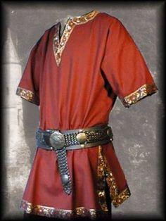 Medieval Tunic Brocade Braided Renaissance SCA LARP Aristocrat Chevalier | eBay