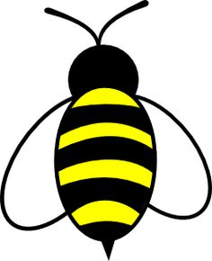 Bee clip art (bee's knees)