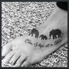 My elephant tattoo :)   I think all three of us should get the same tat :) What do you think??? <3 <3 <3