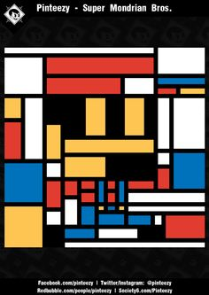 Super Mondrian Bros. http://www.shirtpunch.com | 24 hours | $10 Thx a million!