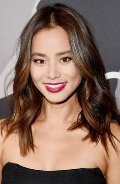Exclusive: Jamie Chung's Favorite Makeup Trick via @byrdiebeauty