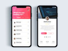 Discovery programmers app - Daily UI Challenge 43/365