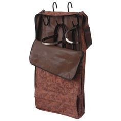 Showman TACK CARRIER 5 Hook Zippered Cordura Nylon with Separate Storage Outside