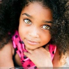 One day, hopefully my daughter will have these eyes