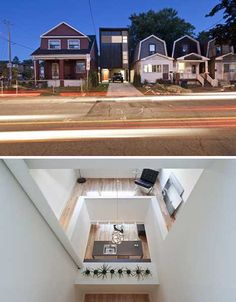 small squeezed house design