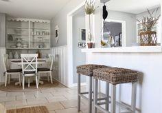 Kitchen pass through eclecticallyvintage.com