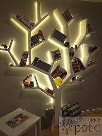 półka drzewo http://stylowi.pl/marcstel/1656956/moje-realizacje