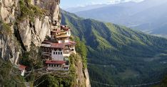 Plan your trip to Bhutan with GeoEx. From trekking and hiking to experiencing Bhutan festivals and traditions, get the most out of your Bhutan luxury tour. Qhd Wallpaper, Shwedagon Pagoda, Hiking Tours, Luang Prabang, Buddhist Temple, World's Most Beautiful, Angkor Wat, Places To See, Monument Valley