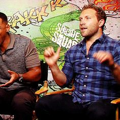 Jai Courtney Suicide Squad Will Smith Interview