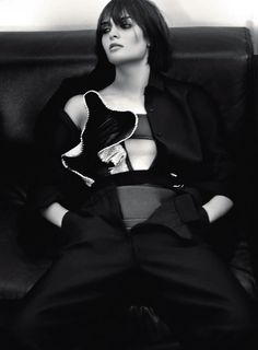 Sam Rollinson And Timur Simakov By Benjamin Lennox For Interview Russia September 2014