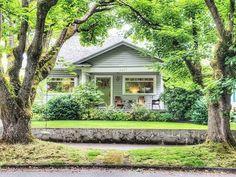 Irvington bungalow Oregon House, Portland Oregon, Bungalow, Houses, Cabin, Architecture, House Styles, Home Decor, Homes