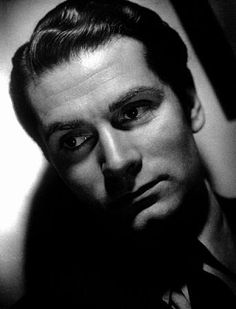 Laurence Olivier, circa 1939.  Silver gelatin, printed later, 17.25x11.25, flushmounted, signed. $1200  © 1978 Laszlo Willinger  MPTV