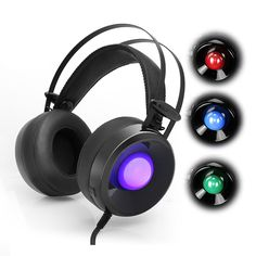 Computer Stereo Gaming Headphone casque Askmeer Combaterwing M170 Best Game Earphone Headset with Mic LED Light for PC Gamer