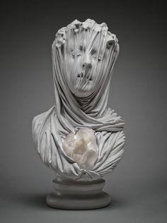 art sculpture face morbid ghost statues stone crystals Figures amethyst Bust Marble veils Livio Scarpella classical Renaissance amethyst or quartz Inspiration Art, Art Inspo, Art Sculpture, Sculptures, Statue Ange, Italian Artist, Oeuvre D'art, Contemporary Artists, Art Drawings