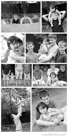 Big Brothers, Black & White Family Portraits, Kids Photographer Boston, Boston Children Photographer, Family Photos Boston, Siblings, Sibling Photography, Boston Family Portrait -- Copyright Maureen Ford Photography #MaureenFord