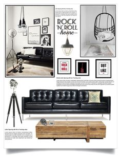 """""""Rock 'n' Roll Home"""" by jecikilicica ❤ liked on Polyvore featuring interior, interiors, interior design, home, home decor, interior decorating, Thrive, Kevin O'Brien, Ralph Lauren Home and iittala"""