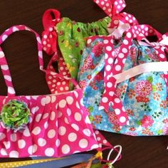 Toddlers Pillowcase Dresses and Purse