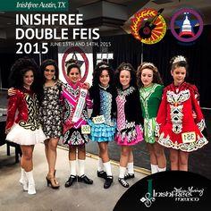 We love being part of the #Inishfree family!  #InishfreeMexico  #InishfreeTeam Tania Martinez ✨ Texas Capital Championships   #IrishDancing