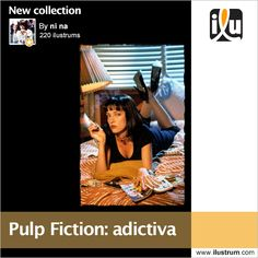 #PulpFiction: adictiva  Por ni na #cine #tarantino