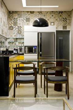 Cocinas de estilo industrial por 1:1 arquitetura:design