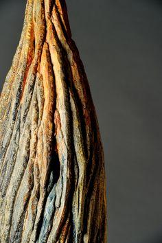 #sculpture #contemporaryceramics #art  #woodlike #treebark #naturaltexture Tree Bark, Contemporary Ceramics, Natural Texture, Sculpting, Hair Styles, Wood, Art, Fashion, Whittling