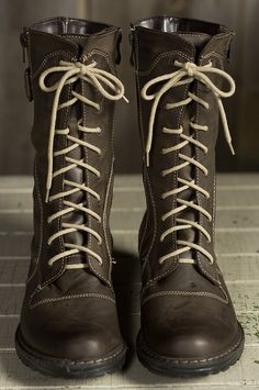 Women's Marco Leather Boots with Wool Lining