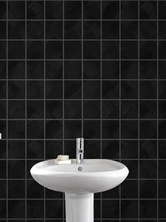 This great tile effect design with added sparkle gives a crisp clean look to any…