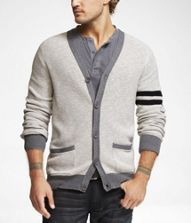Collegiate Sweater - I love these for over a shirt and tie at work.  This one is Express