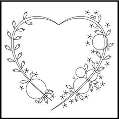 Embroidery Hearts, Floral Embroidery Patterns, Hand Embroidery Videos, Embroidery Stitches Tutorial, Embroidery Sampler, Embroidery Flowers Pattern, Simple Embroidery, Embroidery Hoop Art, Hand Embroidery Designs