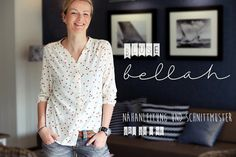 Ebook bellah - legere Bluse in Gr. 34 bis 46 - Another! New Wardrobe, Capsule Wardrobe, Sewing Clothes, Diy Clothes, Stylish Outfits, Fashion Outfits, Sewing Blogs, Sewing Ideas, Summer Blouses