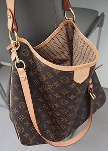 orig. LV Louis Vuitton Delightful MM mit Schulterriemen! TOP | eBay
