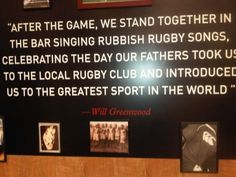 Another great rugby song bit!