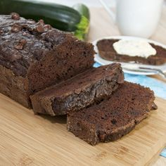 Double Chocolate Zucchini Bread {Sweet Pea's Kitchen}