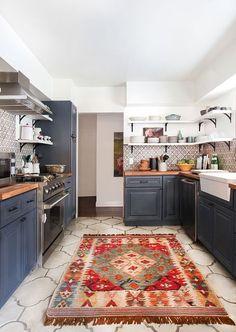 bohemian kitchen design idea 5