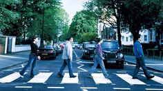 The Abbey Road zebra crossing is famous worldwide as the spot captured on The Beatles Abbey Road album cover. In April 1969 the group came to Abbey Road recording studios to make their final album. The studio and famous zebra crossing are regarded as British music industry icons to this day.