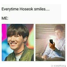 Hahahahah who needs flashlight when u got hobi's picture!